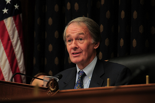 Post image for Energy & Commerce Hearing: Rep. Markey Waves the Flag