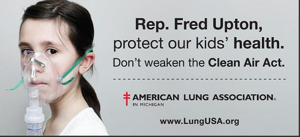 Post image for EPA Provides the Cash, American Lung Association Hits Upton and the Energy Tax Prevention Act