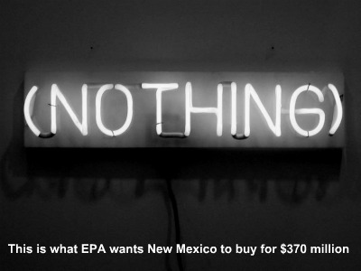 Post image for EPA Imposes $370 Million Regulation on New Mexico, for Invisible Benefits