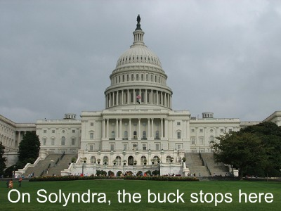 Post image for Congress, Not Steven Chu, Is To Blame for Solyndra