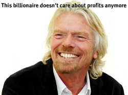 Post image for Billionaire Branson: We Must Put the Planet before Profit