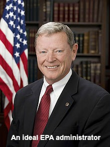 Post image for Sen. Inhofe Releases Report on EPAs 2013 Regulatory Agenda