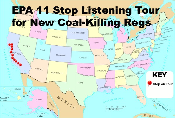 Post image for EPA Meetings on Coal Regulations Exclude Those Living in Coal Producing Regions