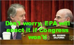 "Post image for Will EPA's Carbon ""Pollution"" Rules Implement the Defunct Waxman-Markey Bill?"