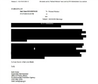 typical FOIA production by 'most transparent admin. ever'