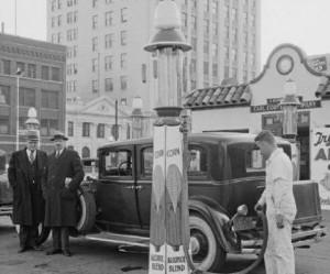 Ethanol Fueling Station 1930s