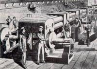 Thomas Edison Dynamos Pearl Street Station NYC 1882
