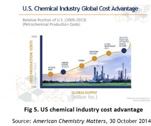 Peiser U.S. Chemical Industry Cost Advantage