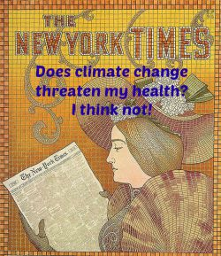 Post image for Climate Change and Health: What Does the Gray Lady Say?