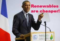 Post image for Paris Climate Conference: Fact Checking Obama's Renewables Boast